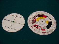 Circular Slide Rule or Calculator